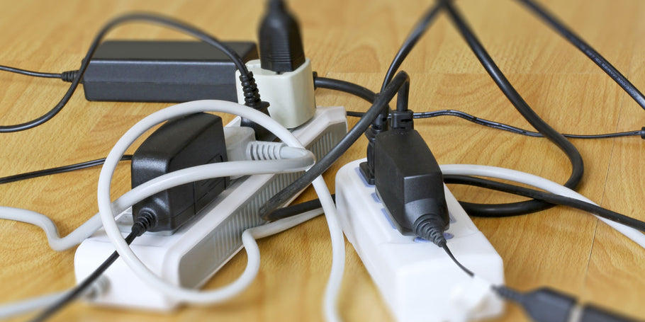 5 Ways to Clean Up Computer Cable Clutter Under Your Desk