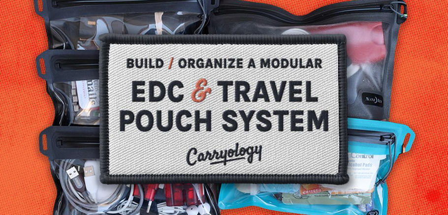Hey Carryologists, today we're talking pouches, and how to create your own modular pouch system that can flow from bag to bag, whatever your use case may be – travel, EDC or adventure – you name it, so you can be ready for anything!