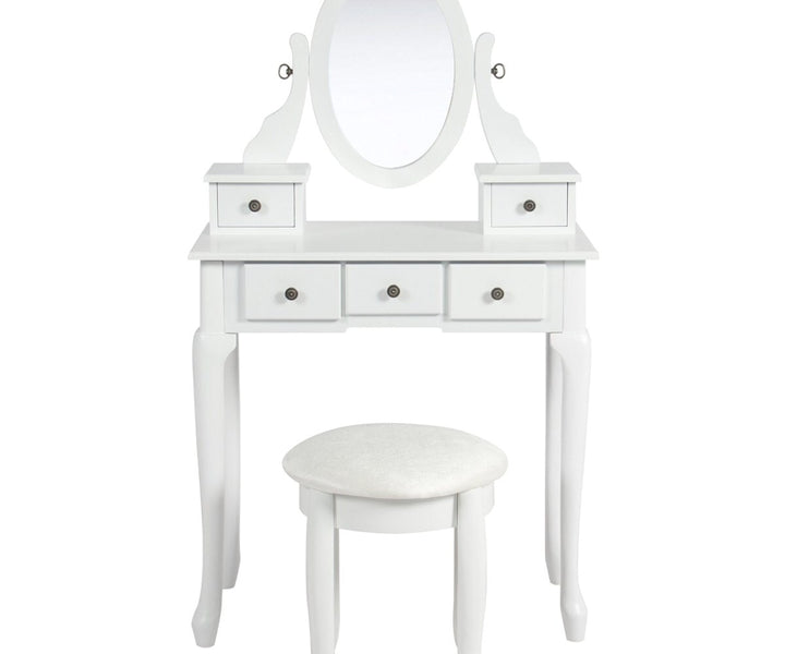 Luxurious Makeup Desk With Drawers