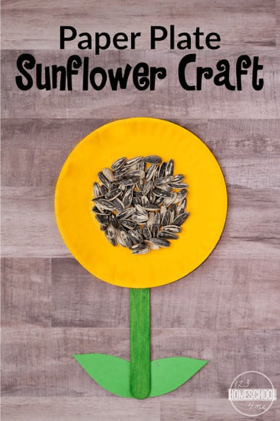 Sunflower Craft with Paper Plates