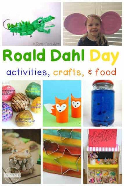 Roald Dahl Craft Ideas