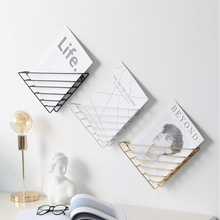 Load image into Gallery viewer, Triangular Frame Wall & Desk Organizer