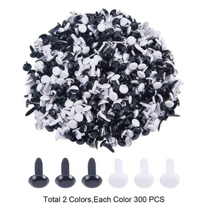 Purchase nbeads 1 box 600pcs mini iron brads black and white round metal paper fastener for scrapbooking crafts making stamping photo album and paper cards diy