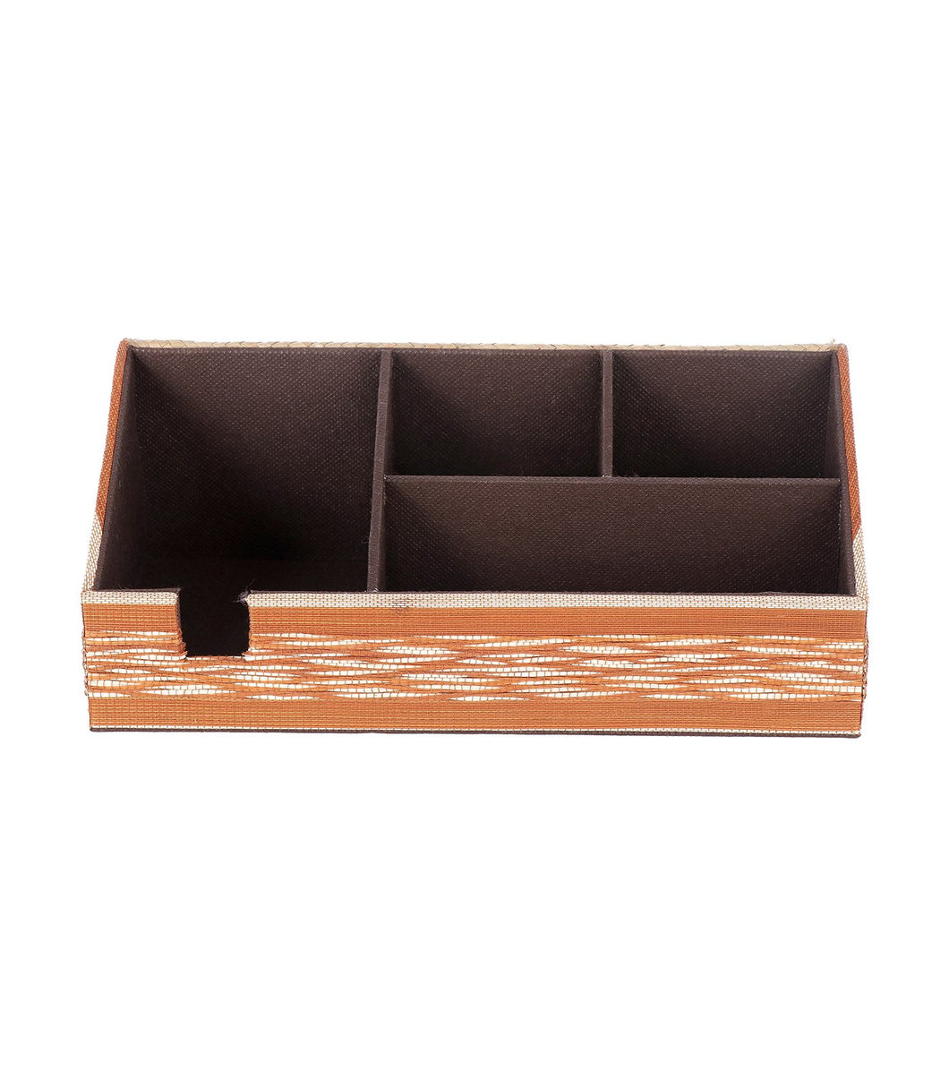 Buntal and Tikog Desk Organizer