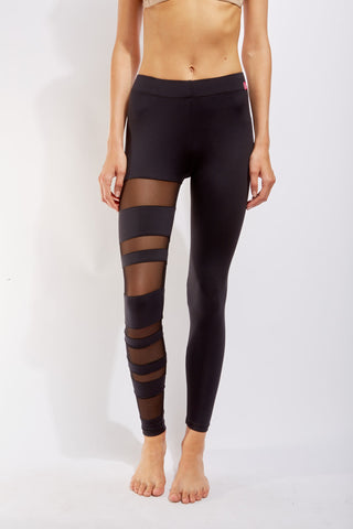 Mesh Cut Away Leggings