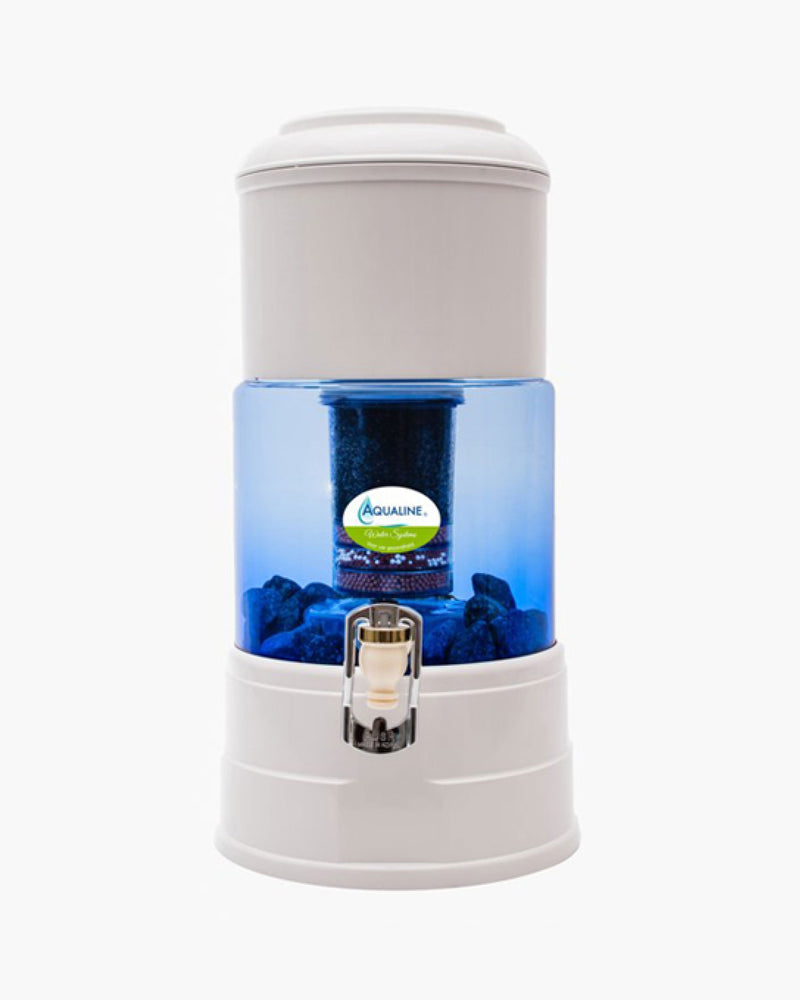 Waterfilter Aqualine 5 (glas) - The Green Happiness