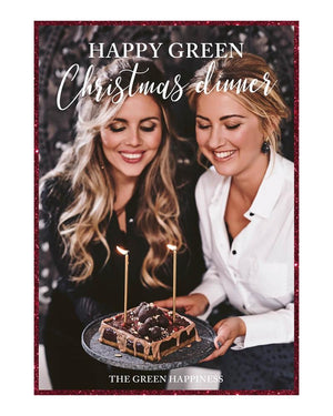 Happy Green Christmas Dinner menu - The Green Happiness