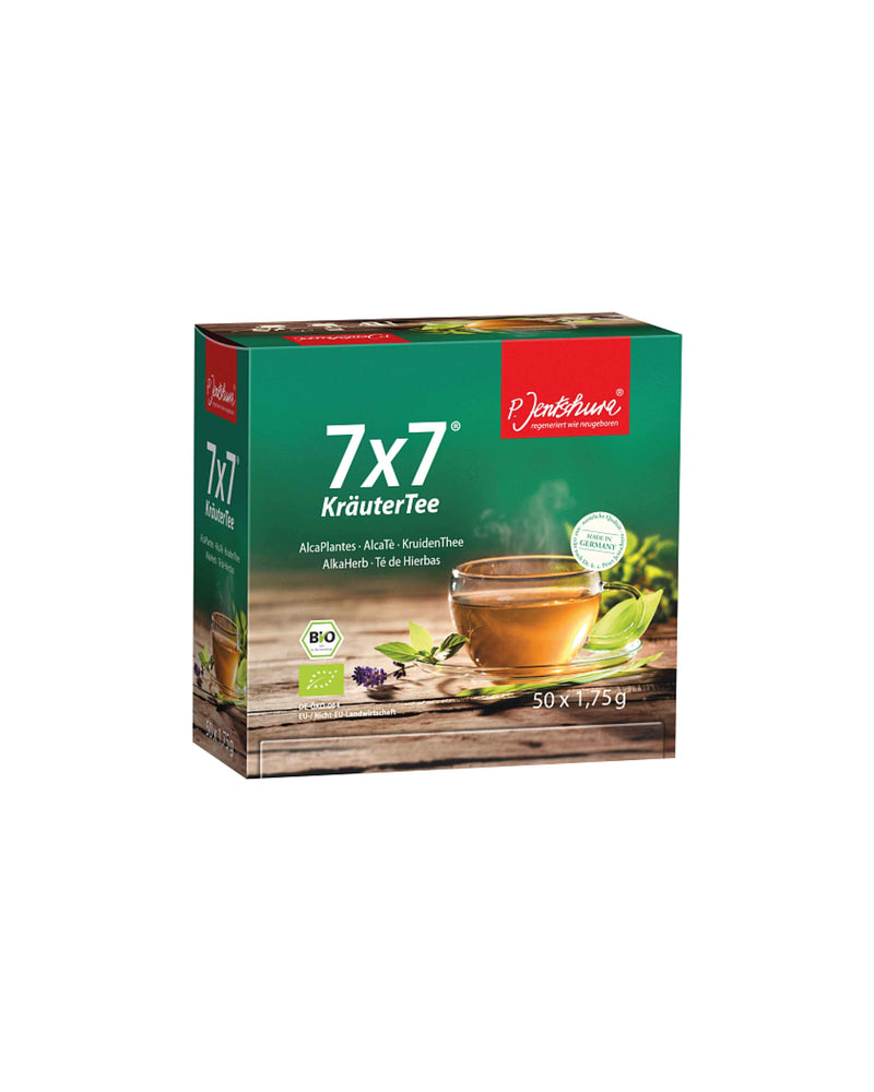 7x7 Kruidenthee 100 zakjes - The Green Happiness
