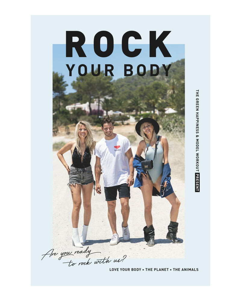 Rock Your Body book - The Green Happiness