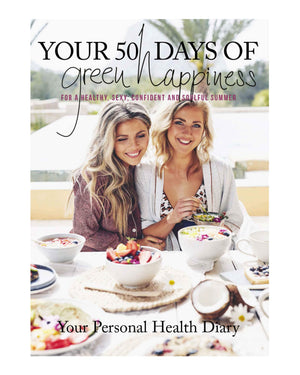 Your Personal Health Diary - The Green Happiness