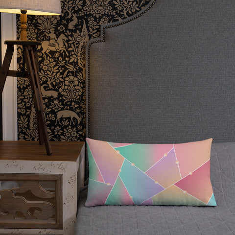Glass Pattern Pillow