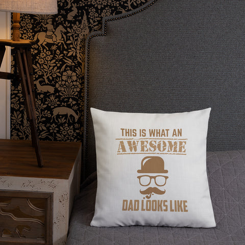 Awesome Dad Pillow