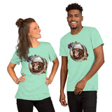 Space chimp Short-Sleeve Unisex T-Shirt