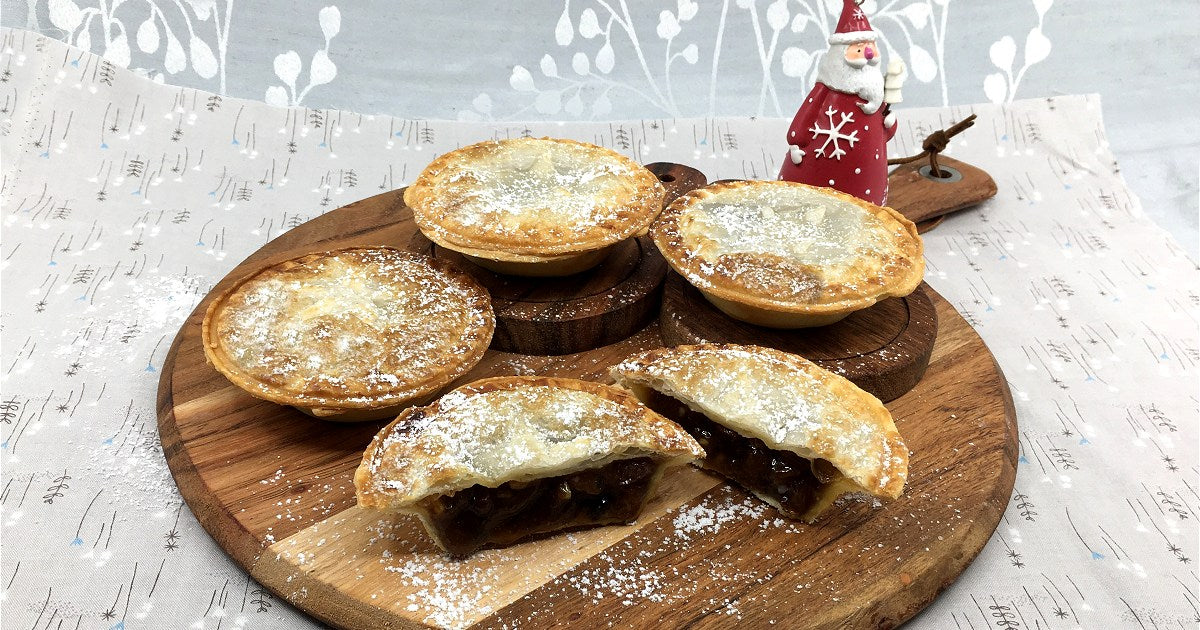 Traditional Brandy Fruit Mince Pies Recipe