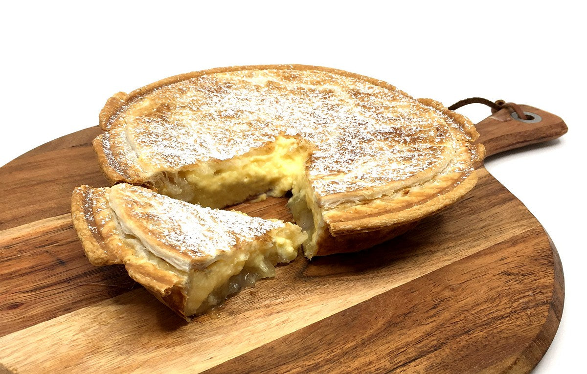 Pineapple Custard Family Pie
