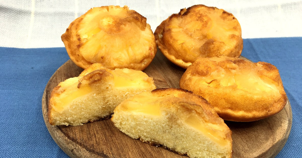 Pineapple Upside Down Cakes Pie Maker Recipe