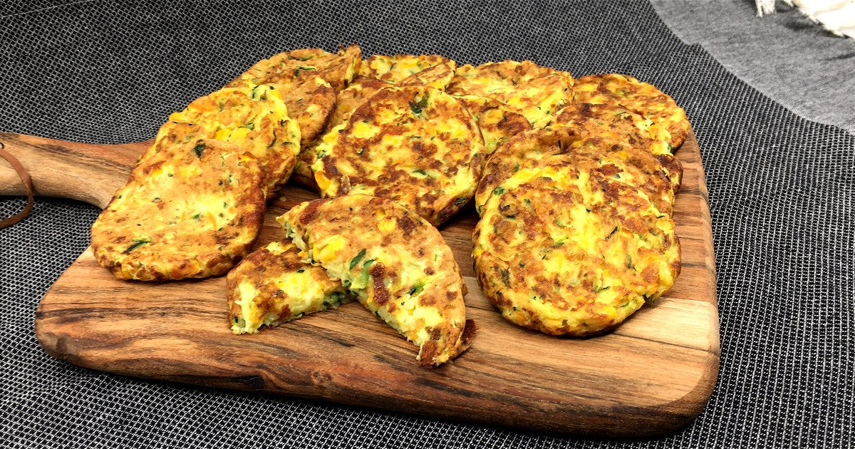 Pie Maker Vegetable Fritters Recipe