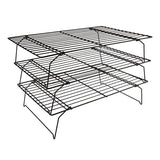 3 Tier Metal Cake Cooling Rack - 400x250mm