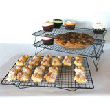 3 Tier Metal Biscuit Cooling Rack - 400x250mm