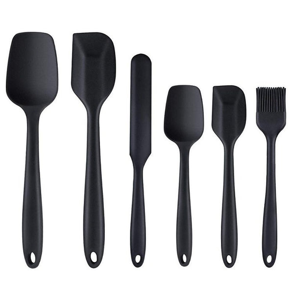6 Piece Silicone Kitchen Utensil Set