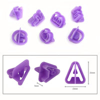 Plastic Alphabet Pastry Cutter Set - 40 Piece