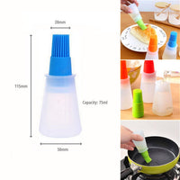 Silicone Oil Pen Pastry Brush