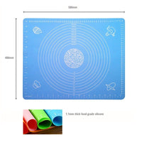 Silicone Pastry Mat Printed 40x50cm