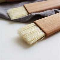 Wooden Pastry Brush - Flat Small 19cm