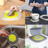 3 Piece Silicone Trivet