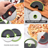 Compact Pizza Cutter Wheel