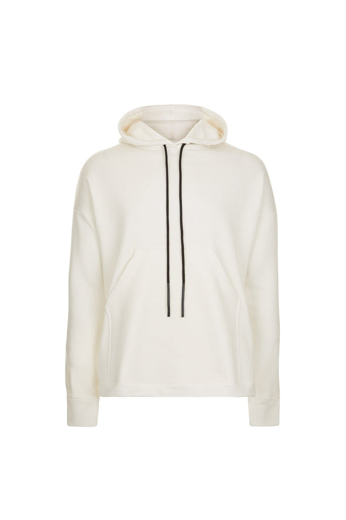 ESSENTIAL PULLOVER HOODY WHITE