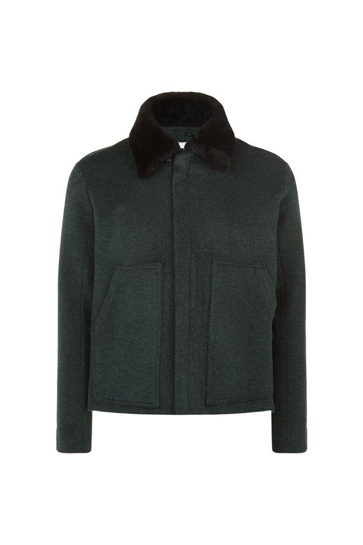 FUR COLLAR RIDER JACKET