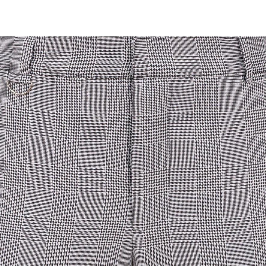 HOUNDSTOOTH CROP TROUSER
