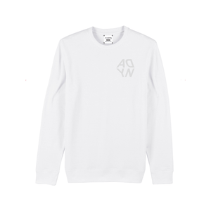 "ADYN ""Casting Shadows"" Collection - Mirrored Logo Sweatshirt"