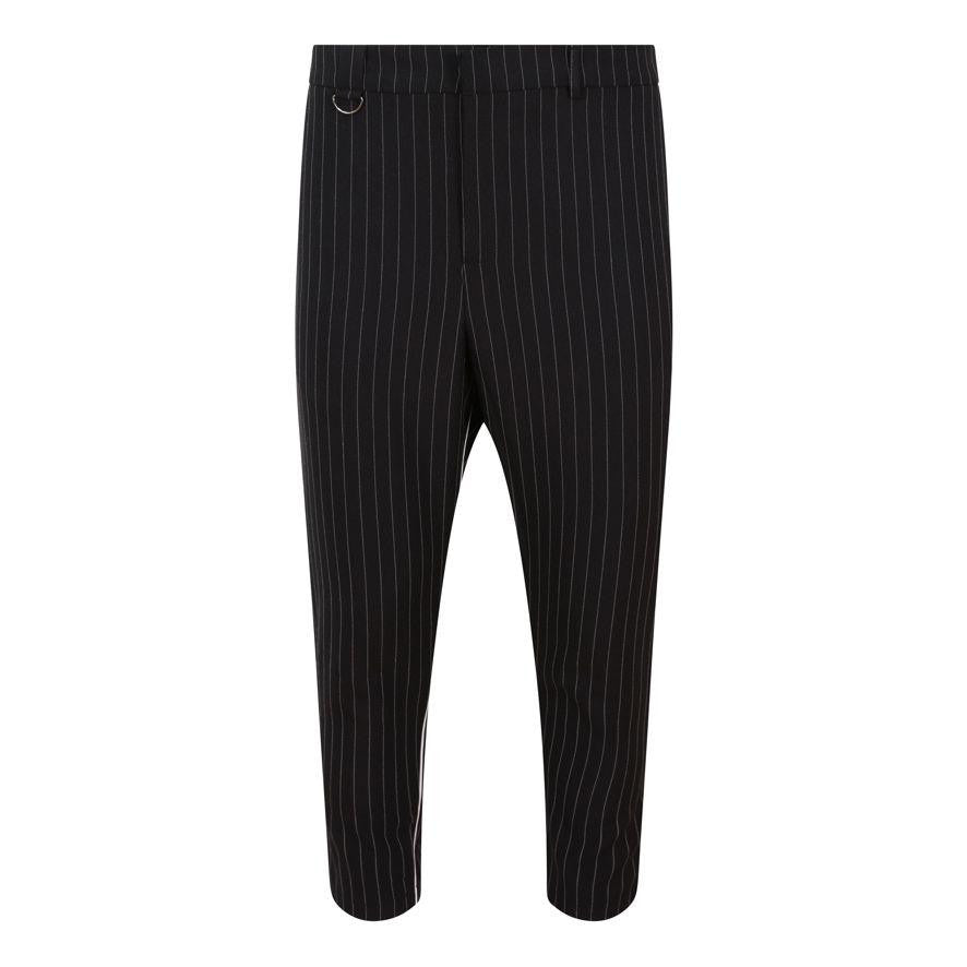 PINSTRIPE CROP TROUSER