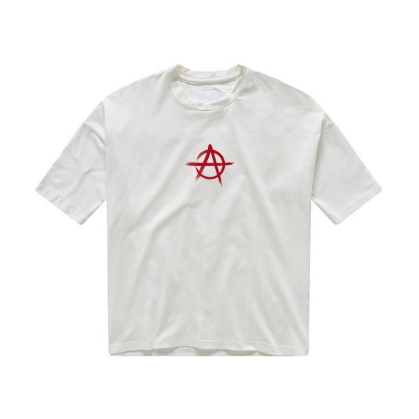 ANARCHY TEE WHITE