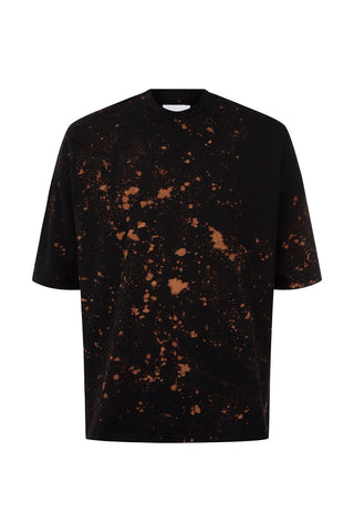 SPLATTER TEE BLACK