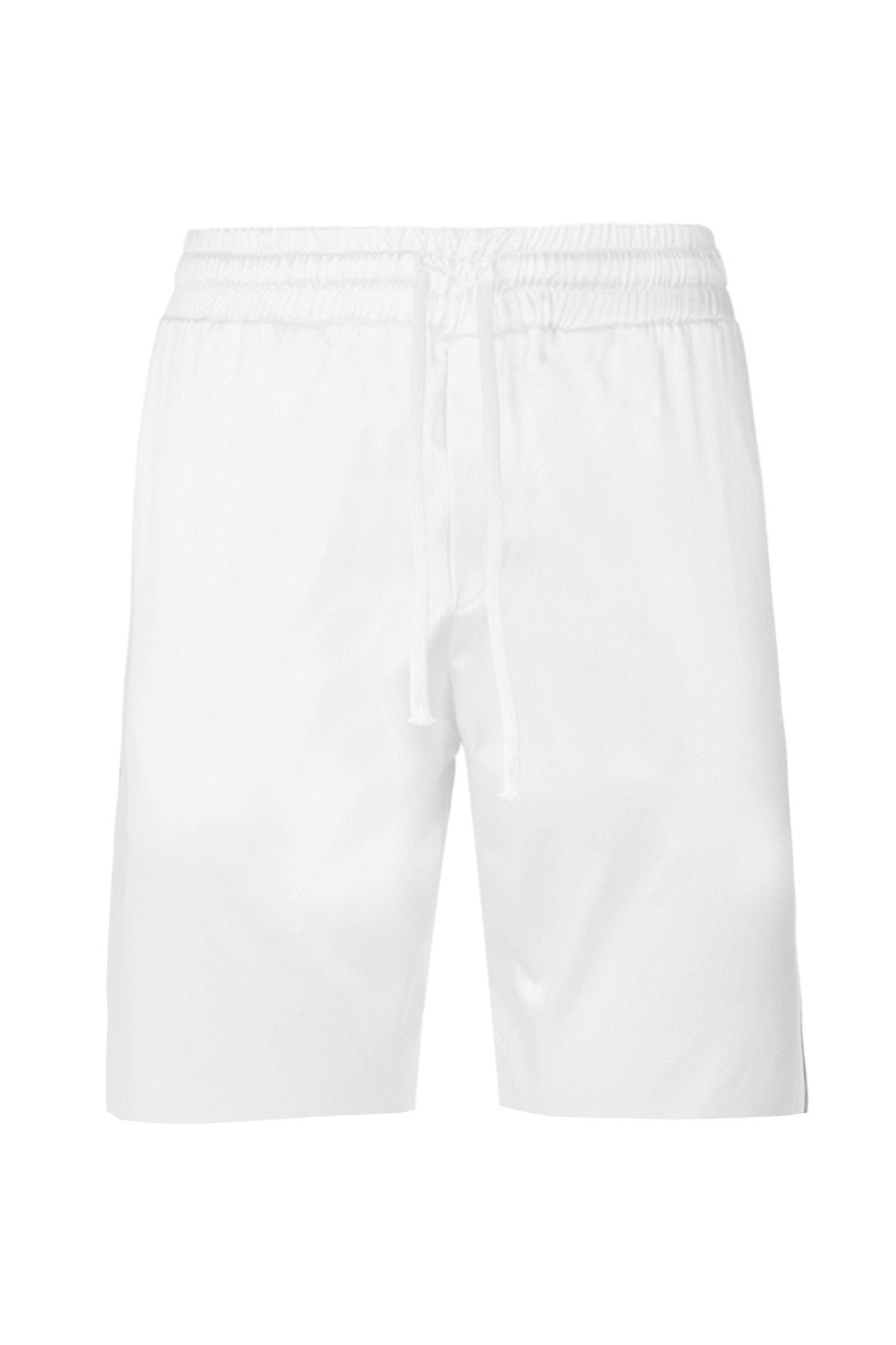RESORT SATIN SHORTS WHITE