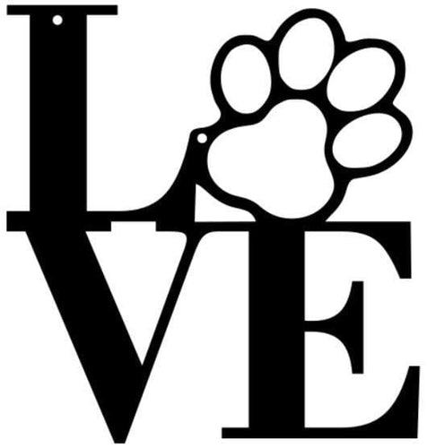 Dog Love clip art