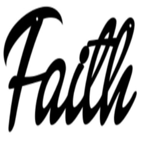 Faith 3D wall hanging Graphic