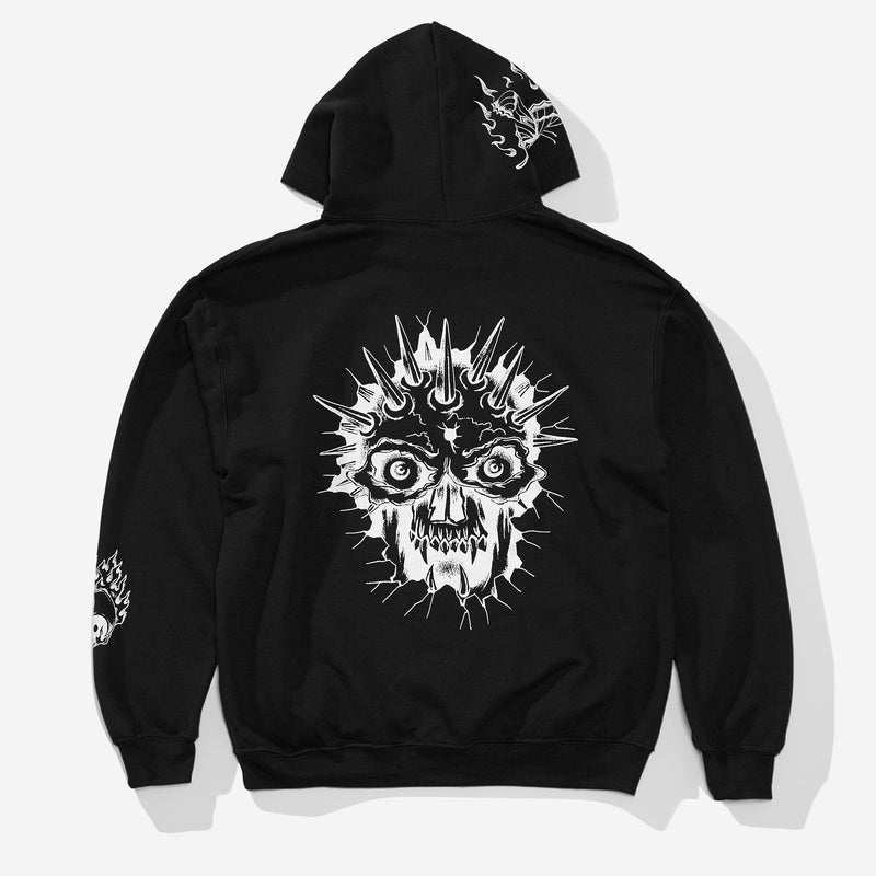 Spider Sinclair Hood - Black