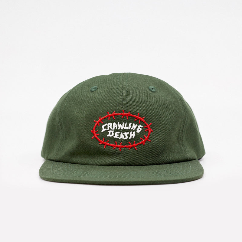 Barbed Wire Cap - Green