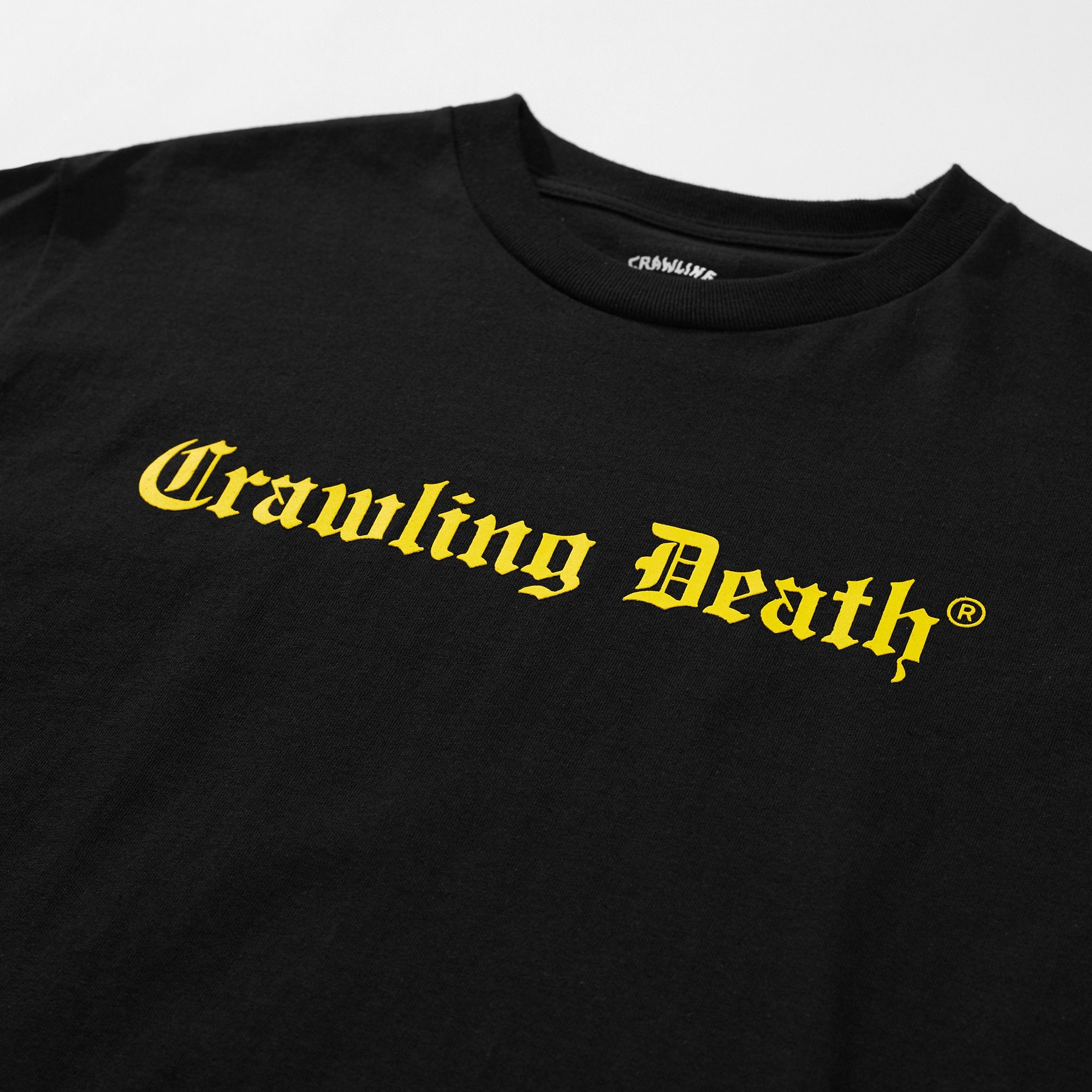 Gothic Logo T-Shirt - Black/Yellow