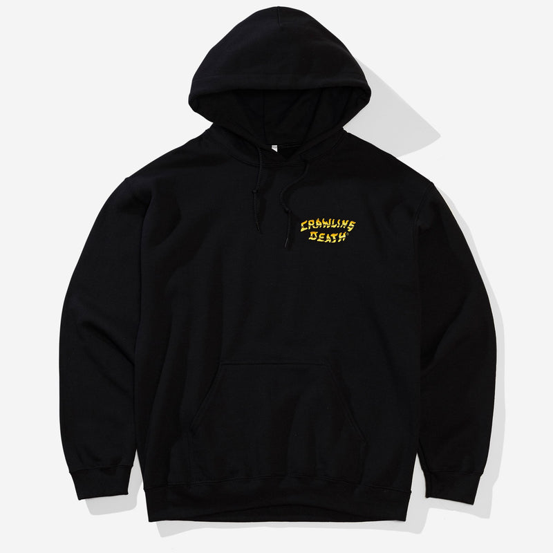 Gold Logo Hood - Black