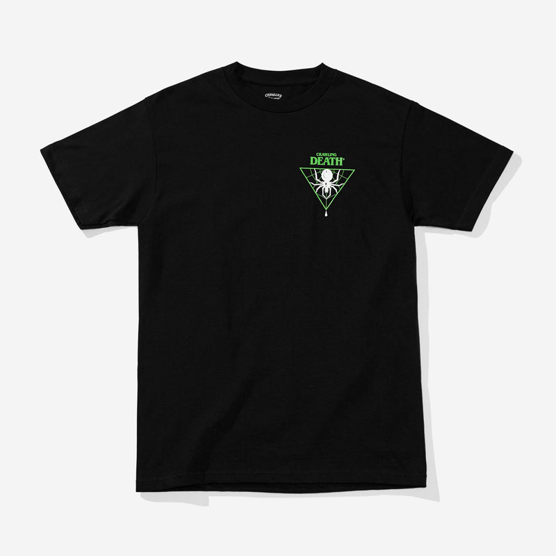 Triangle Spider Green - Black