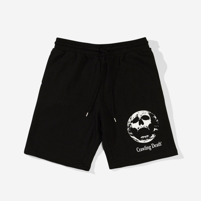 Earth Scream Shorts - Black