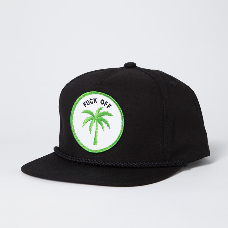 Palm Tree Hat - Black