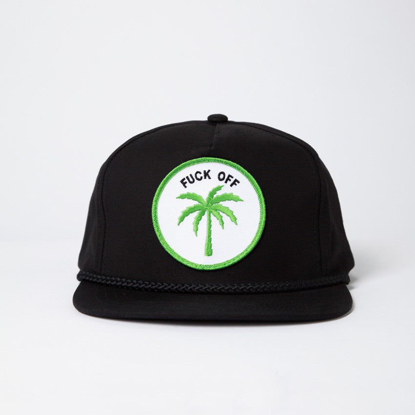 Palm Tree Hat - Black  a6ab6868592