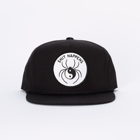 Spider Sinclair Hat - Black