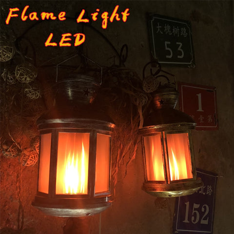 LED Flame Lamps Bulb Wind Light Creative Home Vintage Decoration